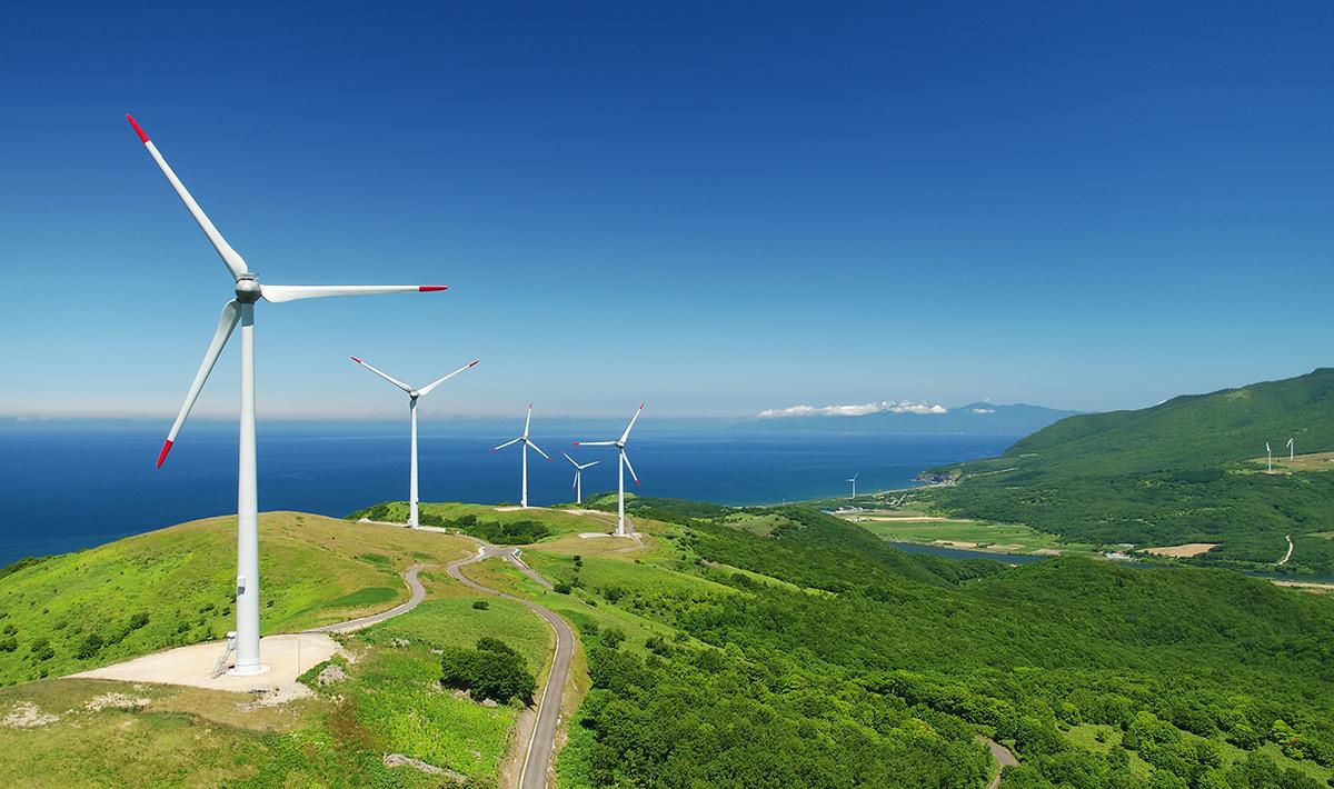 北海道の美しい自然が広がる...